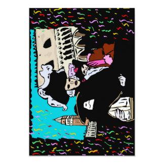 Venice carnival card