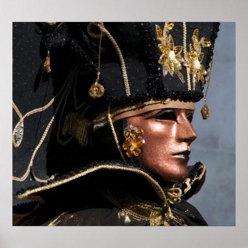 Venice Carnival II Print