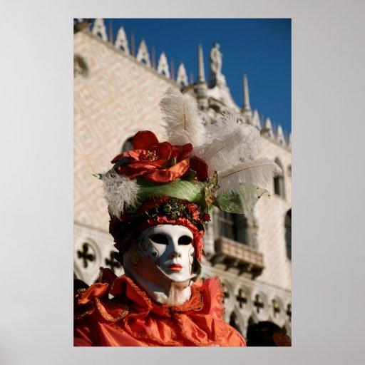 Venice Carnival III Print