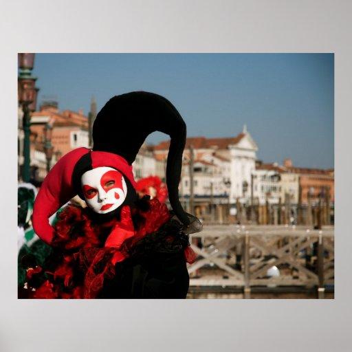 Venice Carnival IV Poster