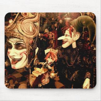 Venice Carnival Masks Mouse Pad