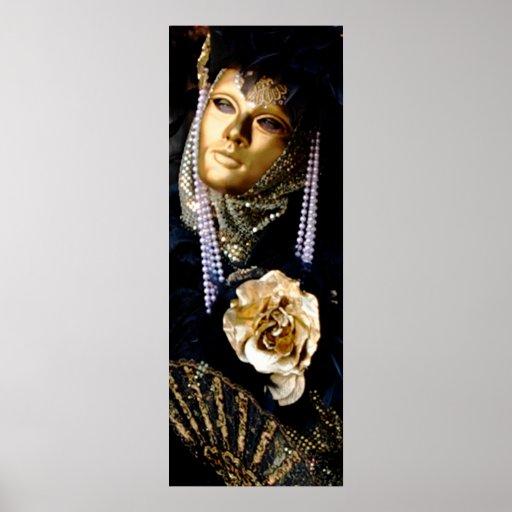 Venice Carnival Masks Print