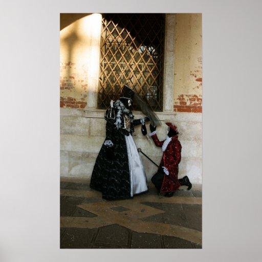 Venice Carnival VIII Poster