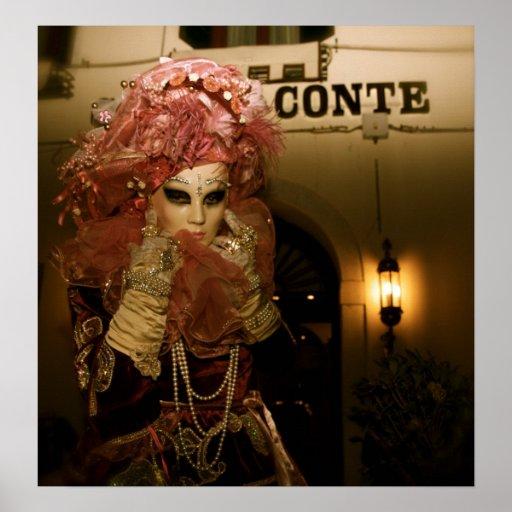 Venice Carnival XII Print
