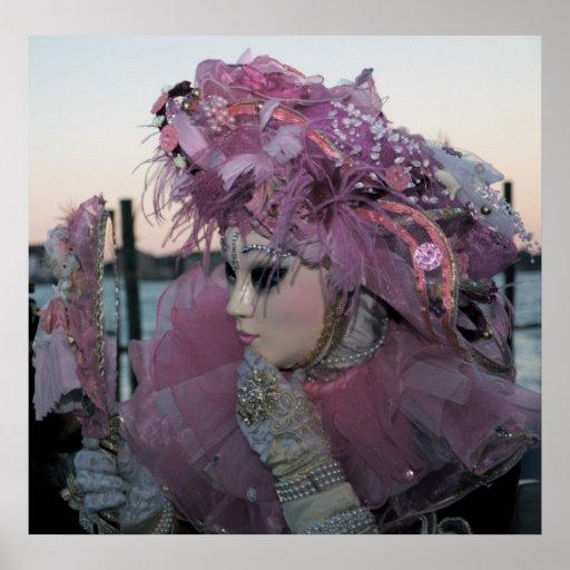 Venice Carnival XIV Print