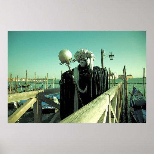Venice Carnival XV Poster