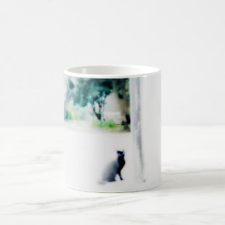 venice cat white classic white coffee mug