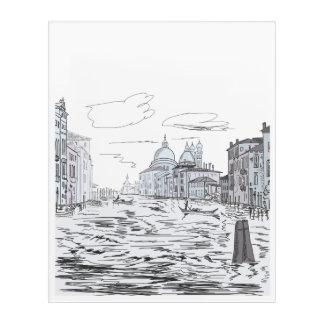 Venice . City on the water Acrylic Print