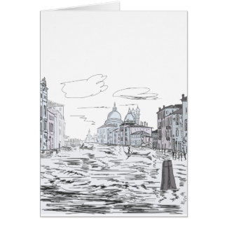 Venice . City on the water Card