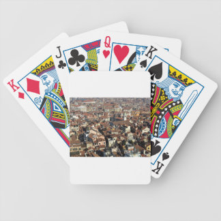 Venice City Skyline Bicycle Playing Cards