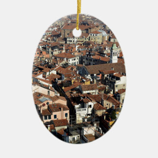 Venice City Skyline Ceramic Ornament