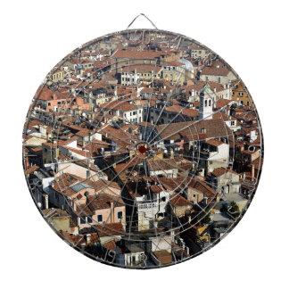 Venice City Skyline Dartboard