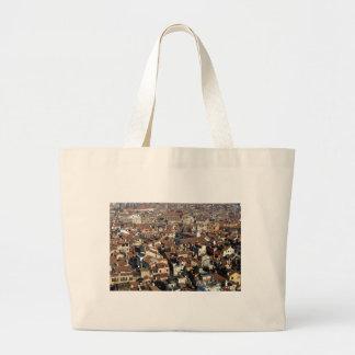 Venice City Skyline Large Tote Bag