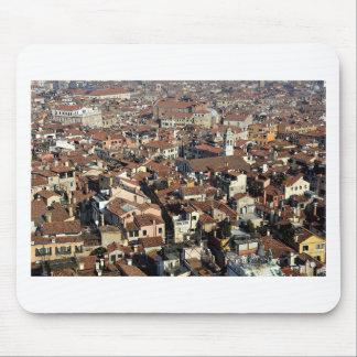 Venice City Skyline Mouse Pad