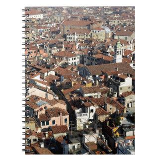 Venice City Skyline Notebook