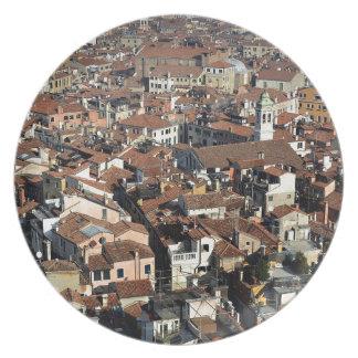 Venice City Skyline Plate