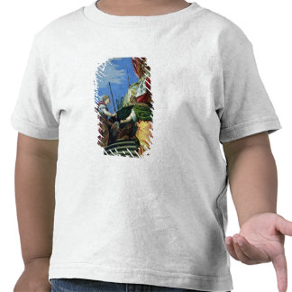 Venice enthroned between Justice and Peace Tee Shirt
