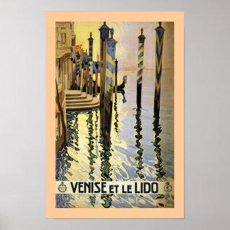 Venice et le Lido Poster