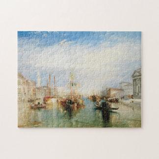 Venice, from the Porch of Madonna della Salute Jigsaw Puzzle