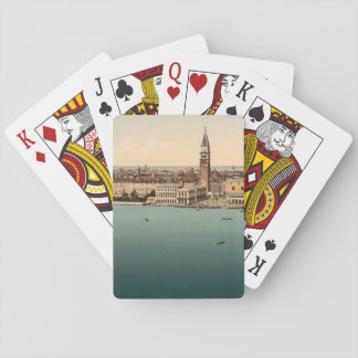 Venice General View, Venice, Italy Playing Cards
