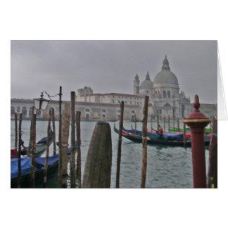 Venice - Gondolas Card