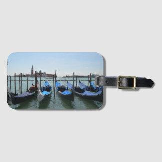 Venice Gondolas Luggage Tag