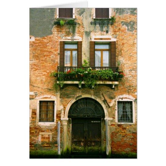 Venice House Notecard