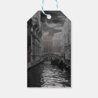 Venice in Black and White Gift Tags
