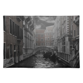 Venice in Black and White Placemat