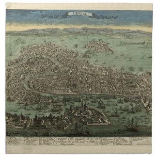 Venice Italy 1798 Napkin