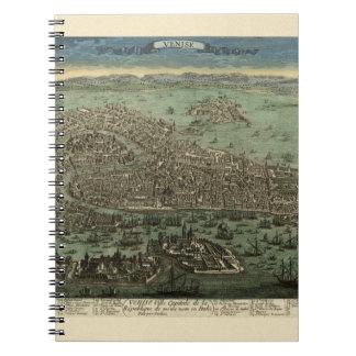 Venice Italy 1798 Notebook
