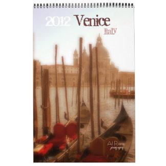 Venice, Italy, 2012, Calendar