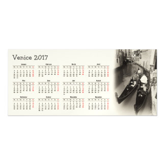 Venice, Italy 2017 calendar Magnetic Invitations