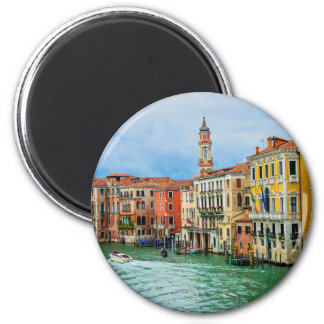 Venice, Italy 2 Inch Round Magnet