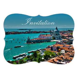 Venice, Italy - Aerial View Card