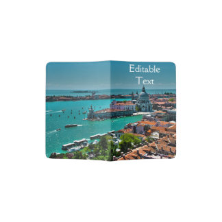 Venice, Italy - Aerial View Passport Holder