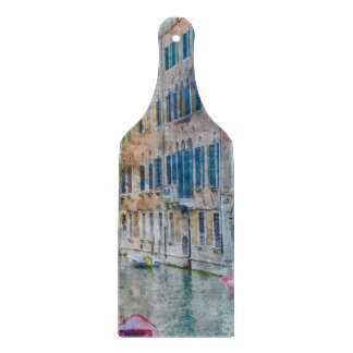Venice Italy Boats in the Grand Canal Cutting Board