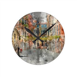 Venice Italy Buildings Clocks