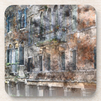 Venice Italy Buildings Coasters