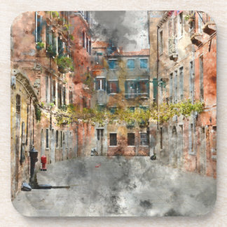 Venice Italy Buildings Drink Coaster