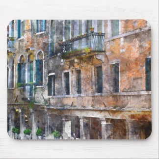 Venice Italy Buildings Mouse Pad