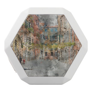 Venice Italy Buildings White Bluetooth Speaker