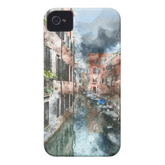Venice Italy Colorful Buildings and Canals iPhone 4 Cover