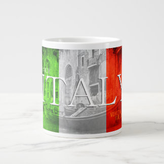 Venice Italy Flag Gondola Mug