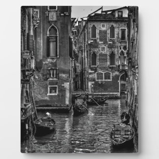 Venice italy gondola boat canal plaque