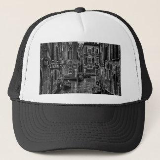 Venice italy gondola boat canal trucker hat
