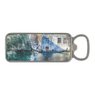 Venice Italy Gondola Grand Canal Magnetic Bottle Opener