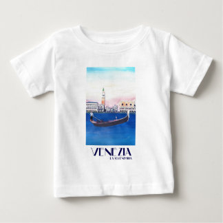 Venice Italy Gondola on Grand Canal with San Marco Baby T-Shirt