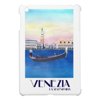Venice Italy Gondola on Grand Canal with San Marco iPad Mini Case