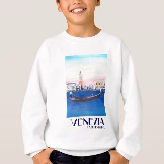 Venice Italy Gondola on Grand Canal with San Marco Sweatshirt